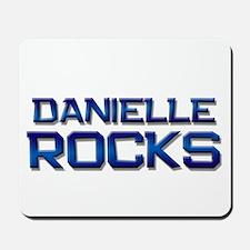 danielle rocks Mousepad