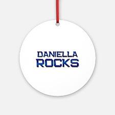 daniella rocks Ornament (Round)