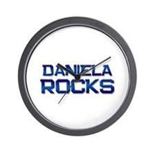daniela rocks Wall Clock