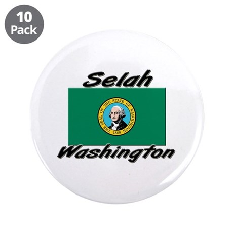 "Selah Washington 3.5"" Button (10 pack)"