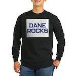 dane rocks Long Sleeve Dark T-Shirt