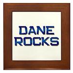 dane rocks Framed Tile