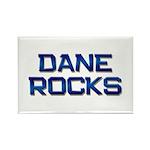 dane rocks Rectangle Magnet (10 pack)