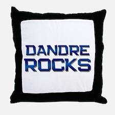 dandre rocks Throw Pillow