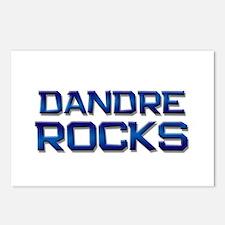 dandre rocks Postcards (Package of 8)