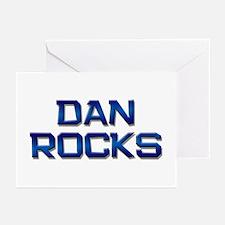 dan rocks Greeting Cards (Pk of 10)