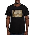 Shadow Kittens Men's Fitted T-Shirt (dark)