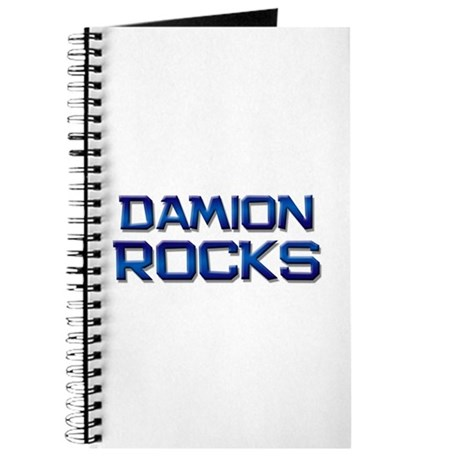 damion rocks Journal