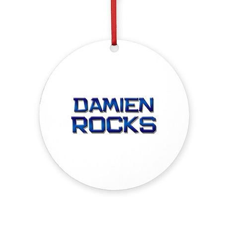 damien rocks Ornament (Round)