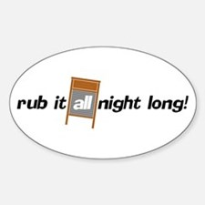 All Night Long! Decal