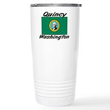Quincy Washington Travel Coffee Mug