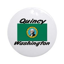 Quincy Washington Ornament (Round)
