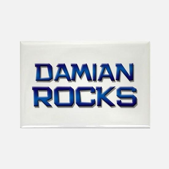 damian rocks Rectangle Magnet