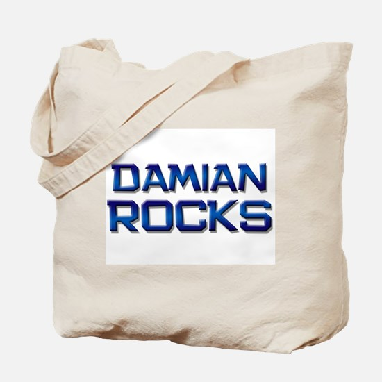 damian rocks Tote Bag