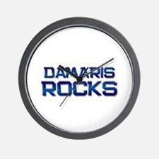 damaris rocks Wall Clock