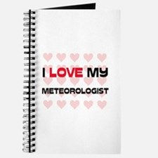 I Love My Meteorologist Journal