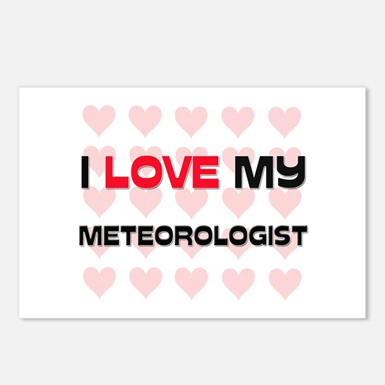 I Love My Meteorologist Postcards (Package of 8)