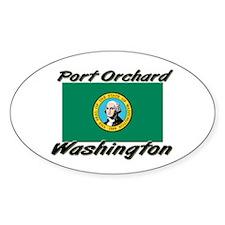 Port Orchard Washington Oval Decal