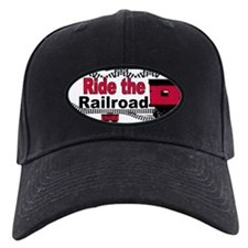 Ride the Railroad Baseball Cap