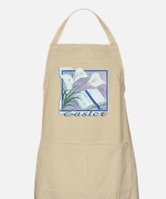 Easter Lilly BBQ Apron