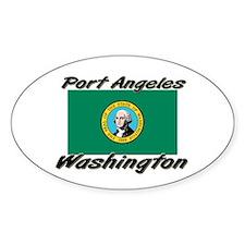 Port Angeles Washington Oval Decal