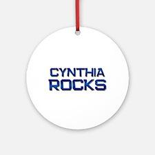 cynthia rocks Ornament (Round)