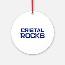 cristal rocks Ornament (Round)