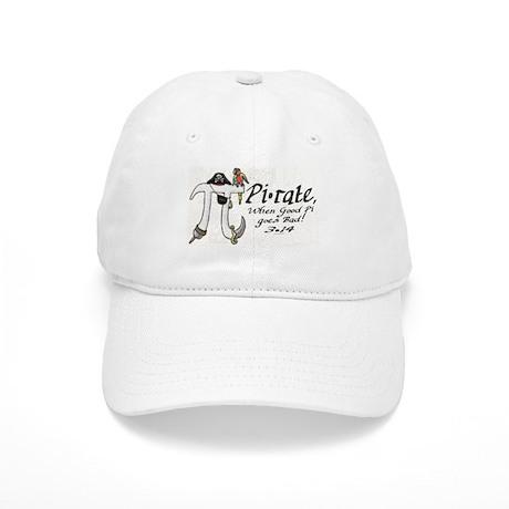Pirate Pi Day Cap