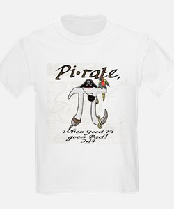 Pirate Pi Day T-Shirt