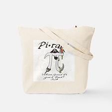 Pirate Pi Day Tote Bag