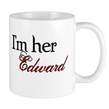 I'm her Edward Twilight Coffee Cup Small Mug