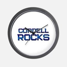 cordell rocks Wall Clock