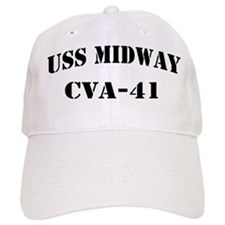 USS MIDWAY Baseball Cap