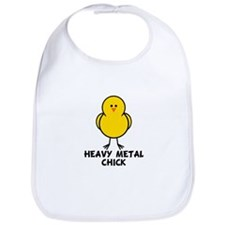 Heavy Metal Chick Bib