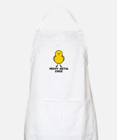 Heavy Metal Chick BBQ Apron