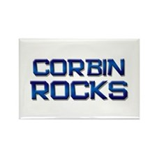corbin rocks Rectangle Magnet