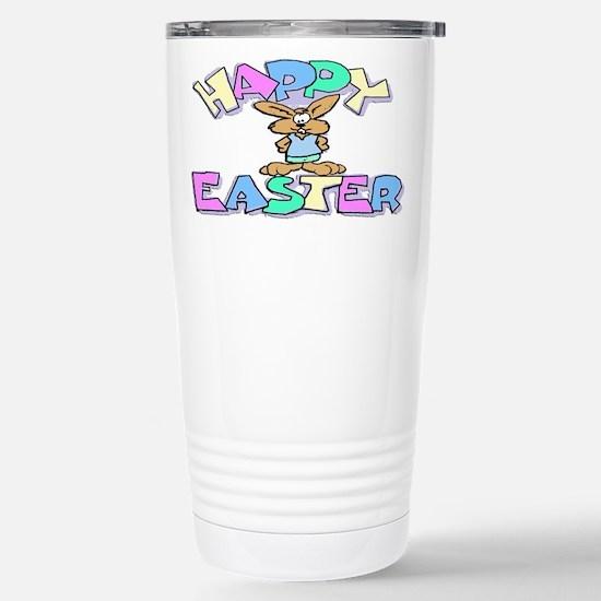 Happy Easter Stainless Steel Travel Mug