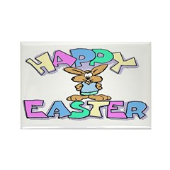 Happy Easter Rectangle Magnet