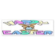 Happy Easter Bumper Bumper Sticker