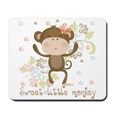Blank.. Sweet little Monkey Mousepad
