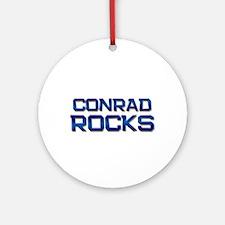 conrad rocks Ornament (Round)