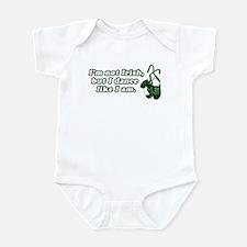 I'm not Irish, but I dance li Infant Bodysuit