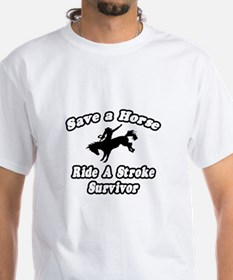 """Ride a Stroke Survivor"" Shirt"