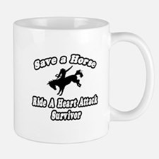 """Ride Heart Attack Survivor"" Mug"