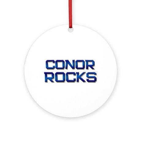 conor rocks Ornament (Round)
