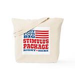 Stimulus Package Tote Bag