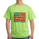 Stimulus Package Green T-Shirt