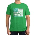 Stimulus Package Men's Fitted T-Shirt (dark)