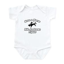 """Ride an Eczema Fighter"" Infant Bodysuit"
