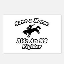"""""""Ride an MS Fighter"""" Postcards (Package of 8)"""